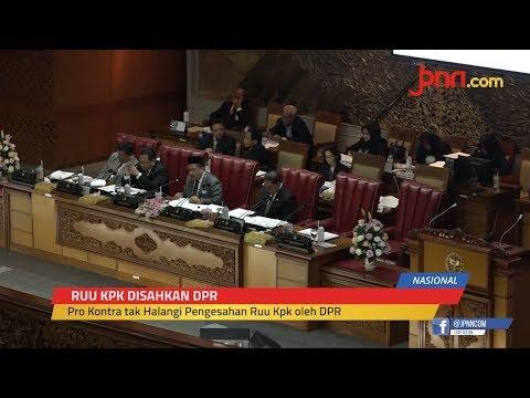 Presiden Jokowi Setuju Revisi UU KPK Disahkan