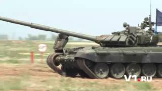 Танковый биатлон на Прудбое