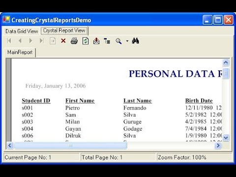 Crystal Reports Create Barcode label for products using c#