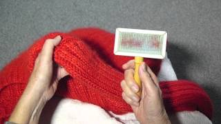 HOW TO BRUSH MOHAIR