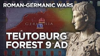 Teutoburg Forest 9 AD - Roman-Germanic Wars DOCUMENTARY