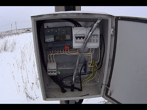 Как заземлить броню кабеля