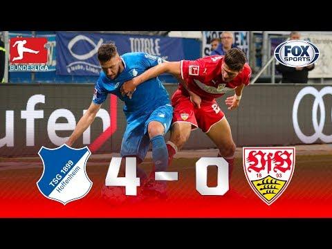 Hoffenheim - VfB Stuttgart [4-0] | GOLES | Jornada 9 | Bundesliga