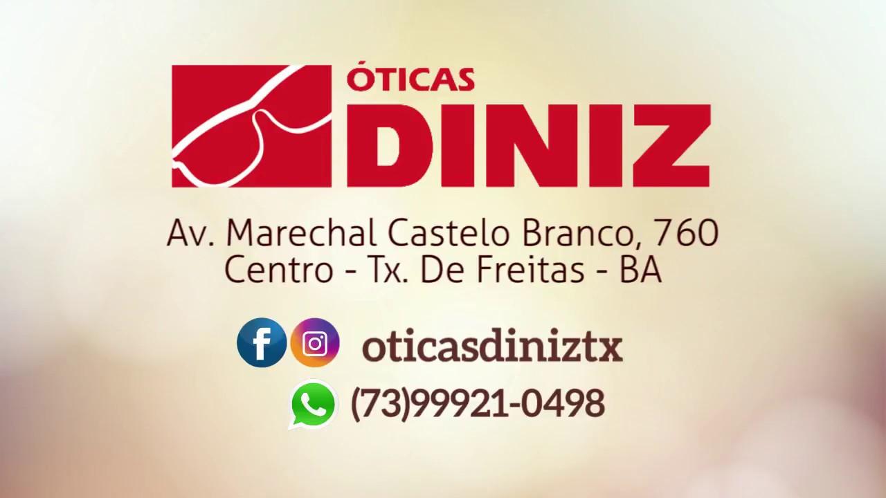 4d18d3d51e587 Promoção de Aniversário das Óticas Diniz - YouTube