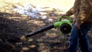 Poulan 200-MPH Gas Blower/Vacuum P200C
