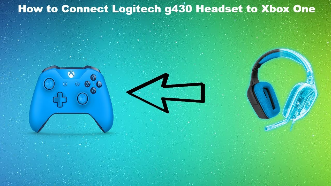 How to Connect Logitech g430 Headset to Xbox One