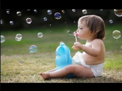 BABY CUTE Blowing Bubbles - Best Funny Video Compilation