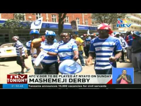 Mashemeji derby: AFC v Gor to be played at Nyayo stadium on Sunday
