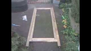 From Trampoline And Garden Swing To Polytunnel Part 3, Door Frame.