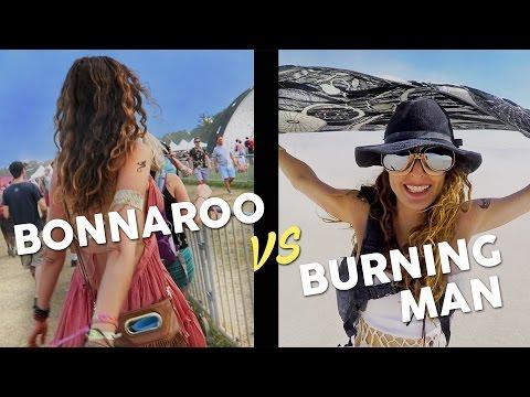 BONNAROO VS BURNING MAN