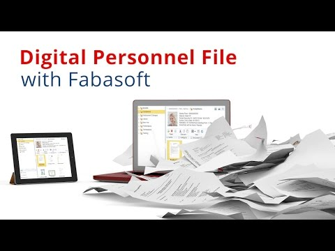 Digital personnel file with Fabasoft