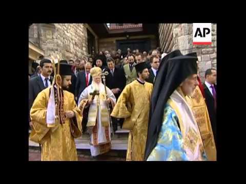Greek Orthodox Christians celebrate Epiphany, swim for cross
