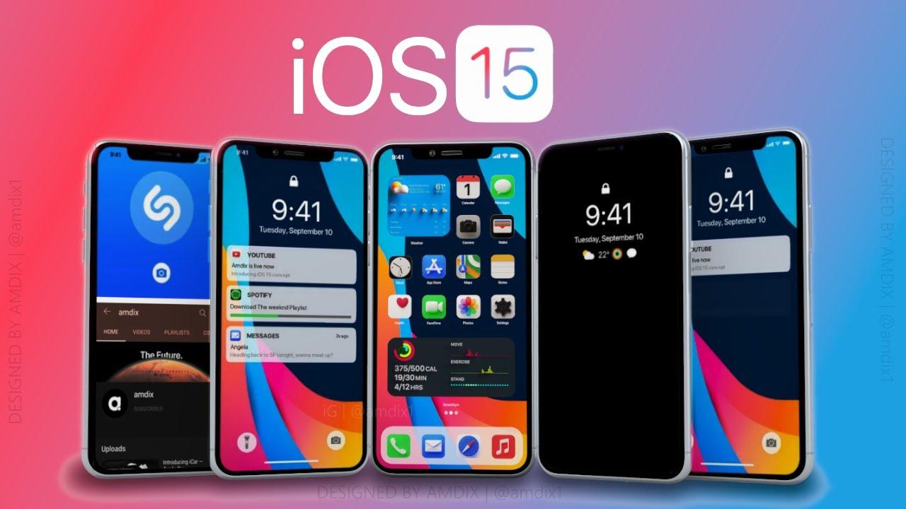 Zvěsti o iOS 15 a koncepčním videu, bude to to, co Apple uvádí na trh? |  ITIGIC