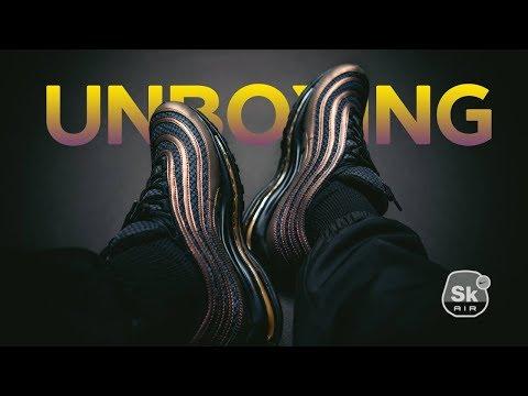ed394483 Сегодня у нас на распаковке интересные кроссовки, относительно свежая  коллаборация английского исполнителя Skepta и Nike, на основе модели Nike  Air Max 97.