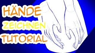 Hände zeichnen Tutorial: Entspannte Hände