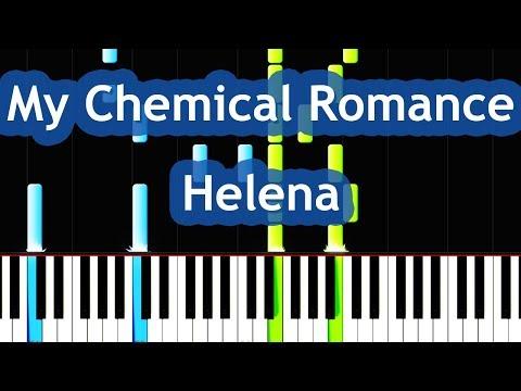 My Chemical Romance - Helena Piano Tutorial