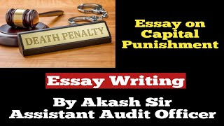 Capital Punishment  Essay Writing  SSC  Bank  IB ACIO  Defence  Others  In Hindi