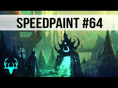 Ancient magic #2 – DIGITAL SPEED PAINTING (#Photoshop) #64 by Daisan