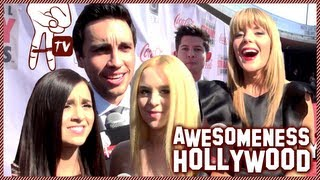 Exclusive Megan and Liz Interview at The 3rd Annual Streamys - Awesomeness Hollywood