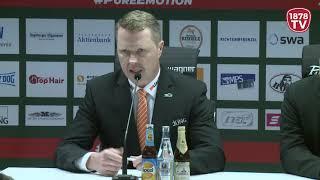 1878 TV | Pressekonferenz 23.11.2018 Augsburg-Nürnberg 5:2