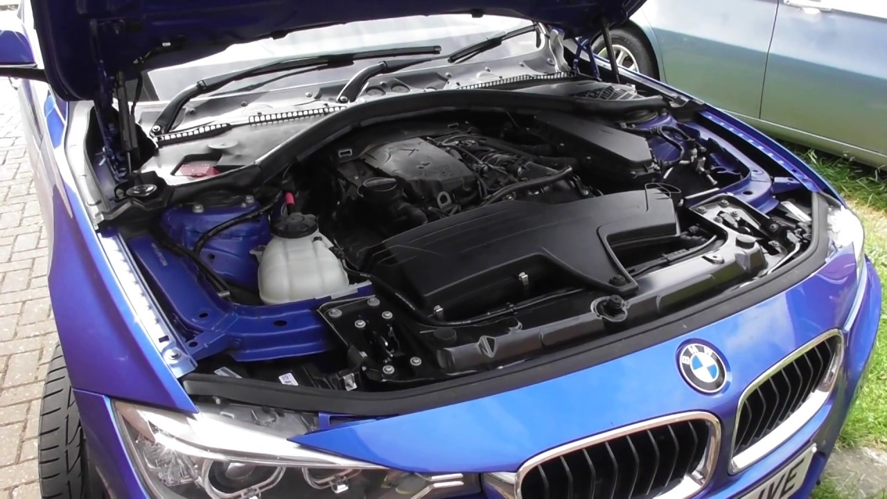 Engine oil top up location bmw f30 f31 3 series youtube for Best motor oil in the world