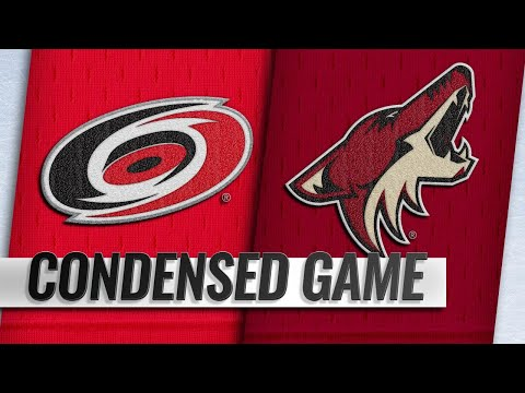 11/02/18 Condensed Game: Hurricanes @ Coyotes