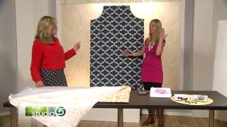 How To Make An Upholstered Headboard With Studio 5 And Thrifty And Chic
