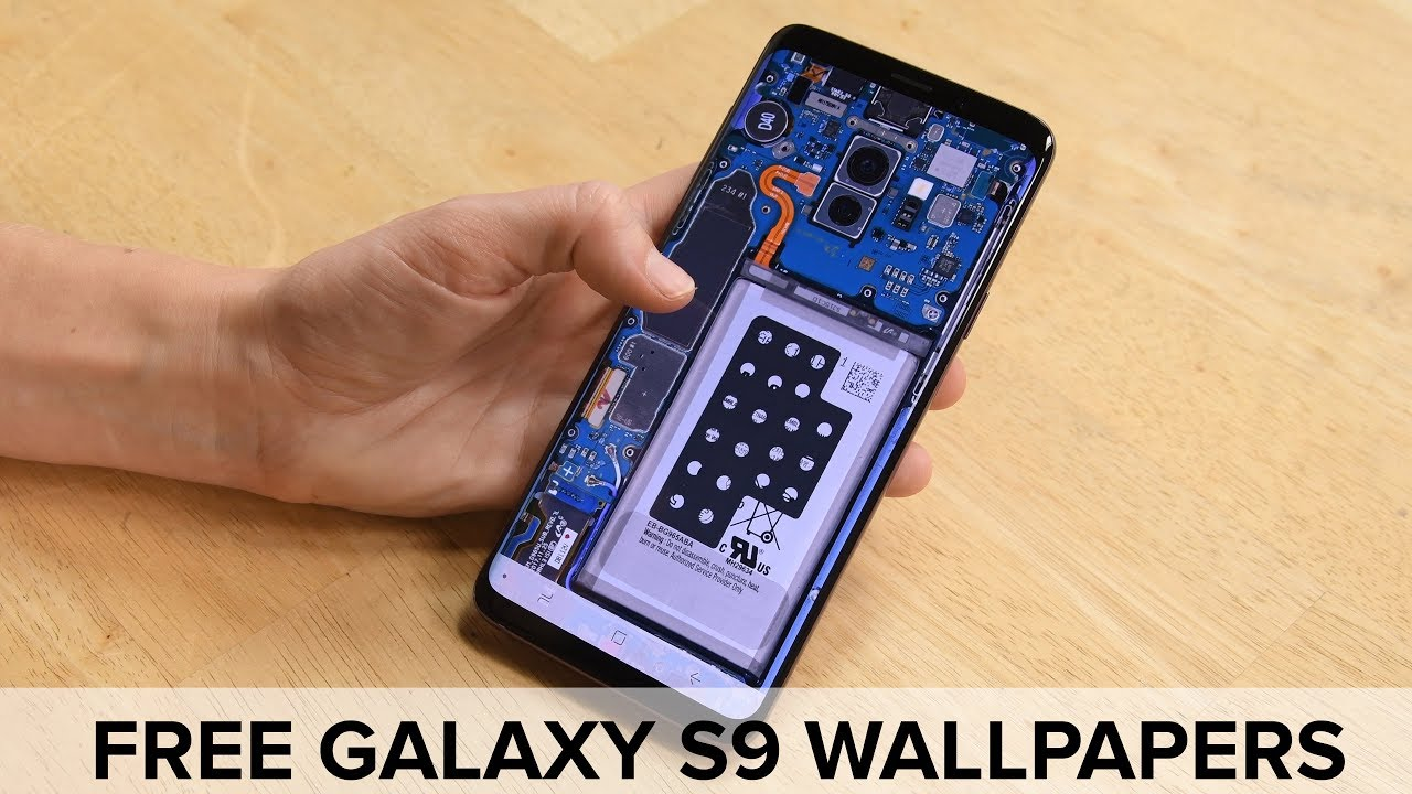 Galaxy S9 (and S9 Plus) See-Through