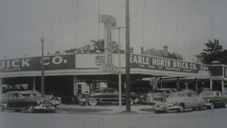 1950's BUICK DEALER TV COMMERCIAL, EARL NORTH, HOUSTON TEXAS
