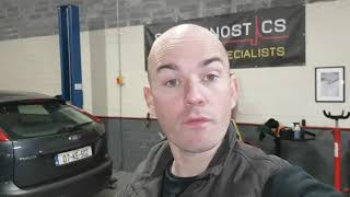 Test to see if a cylinder head gasket is damaged.