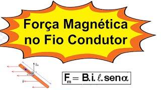 Grings - Aula 20 - Física Elétrica - Força Magnética sobre um Fio Condutor