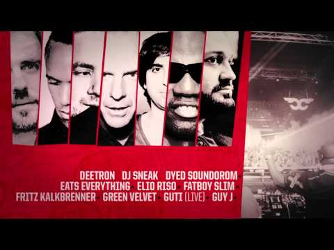 Safehouse Management & Carl Cox present MUSIC IS REVOLUTION at SPACE IBIZA 2014