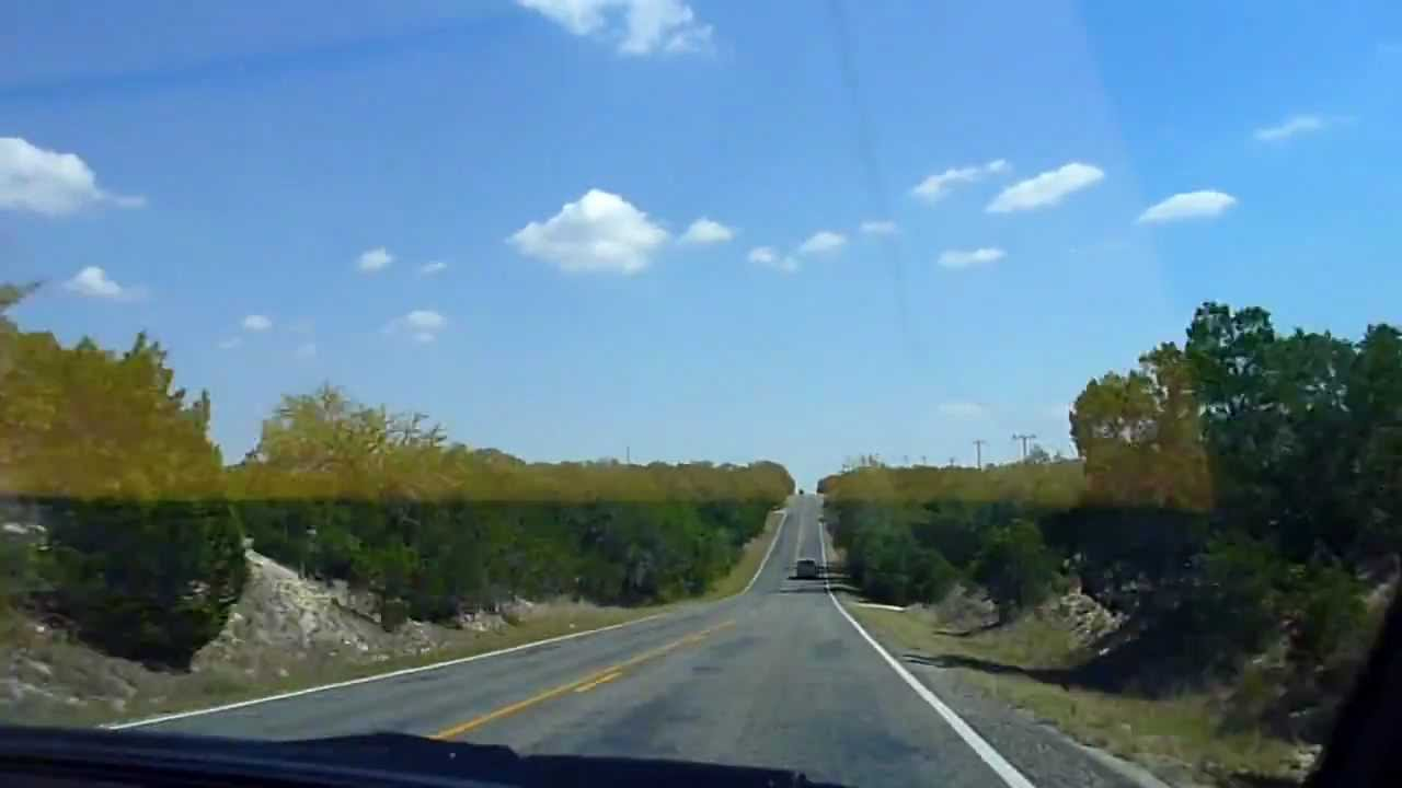 Amoc Scenic Texas Hill Country Drive Youtube