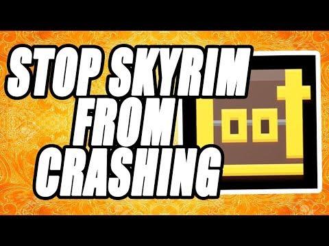 How To Fix Skyrim From Crashing Tutorial