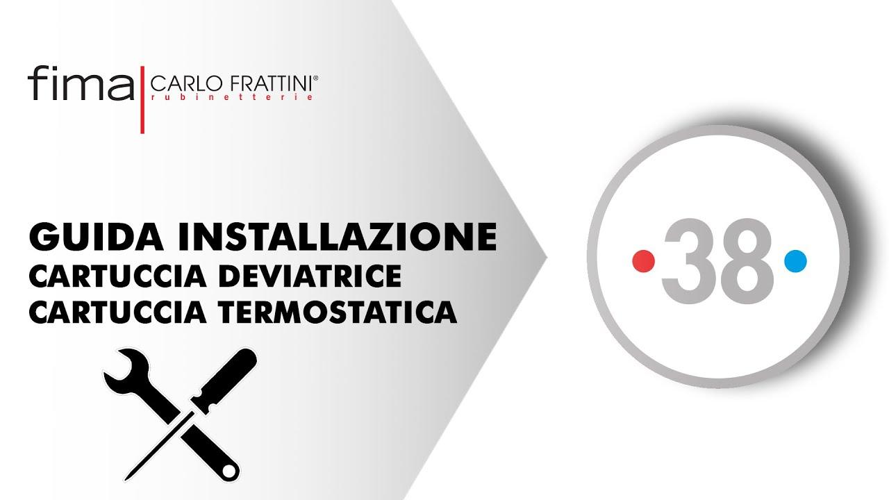 Smontaggio Rubinetto Miscelatore Doccia.Thermostatics Fima Carlo Frattini
