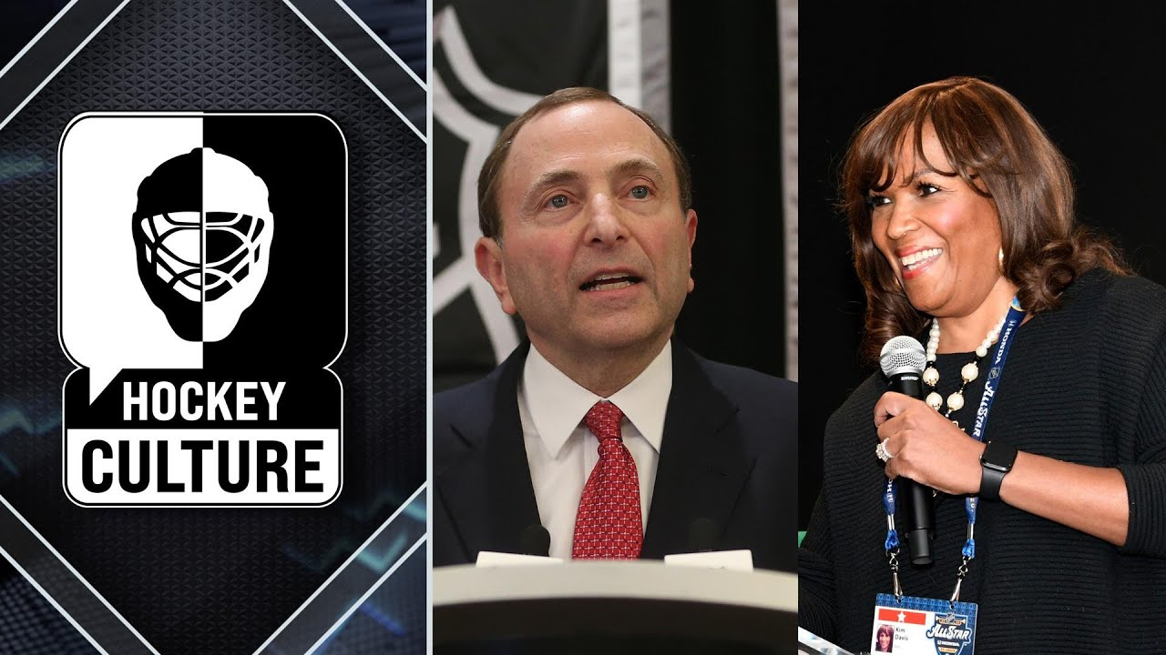 Gary Bettman, Kim Davis lay out NHL's diversity plan | Hockey Culture | NBC Sports