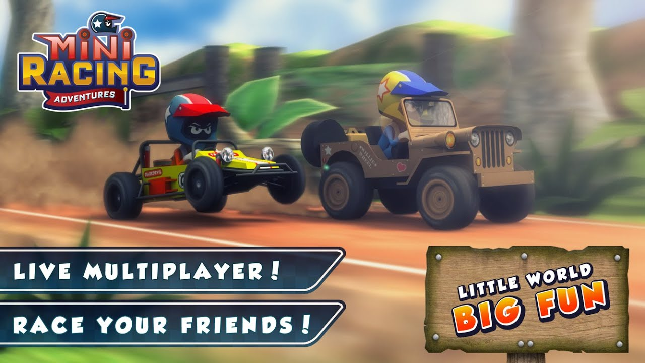 Mini Racing Adventures Official Trailer