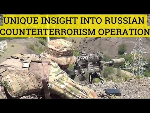 EXCLUSIVE Scenes! Russian Spetsnaz Hunts ISIS Terrorists In Impassable Forests Of Dagestan, Russia ▶11:06