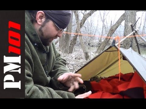 & Willu0027s Shelter: Pathfinder Poncho/Tarp Shelter System - YouTube