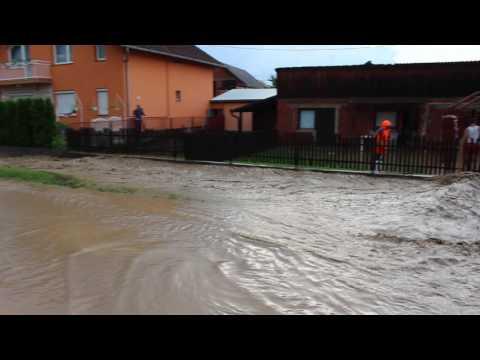 Poplava u Vidovcima u Orljavskoj ulici 1. dio