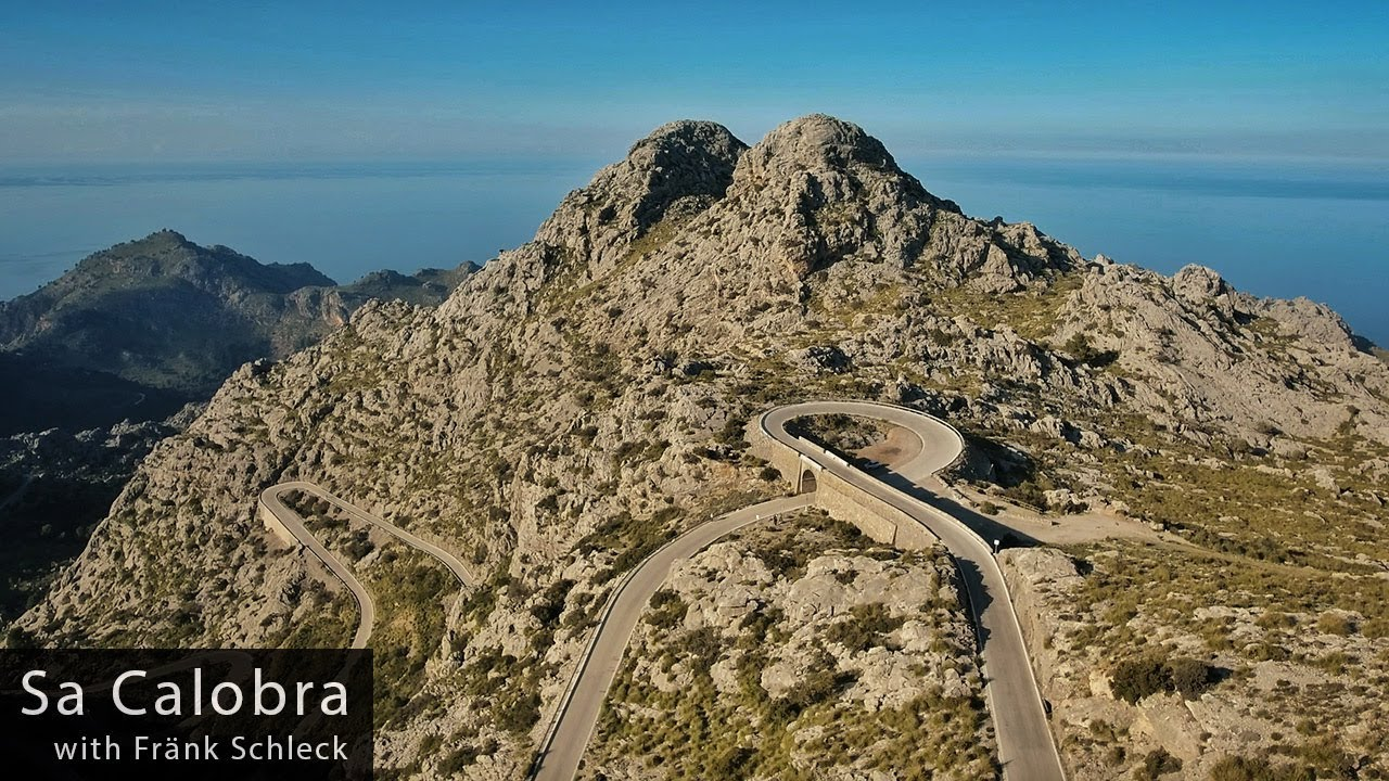 Sa Calobra Coll Dels Reis With Fränk Schleck Cycling Inspiration