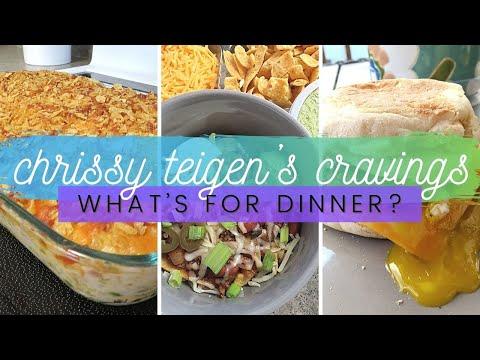 What's For Dinner?    Chrissy Teigen's Cravings #1    Jul 2021