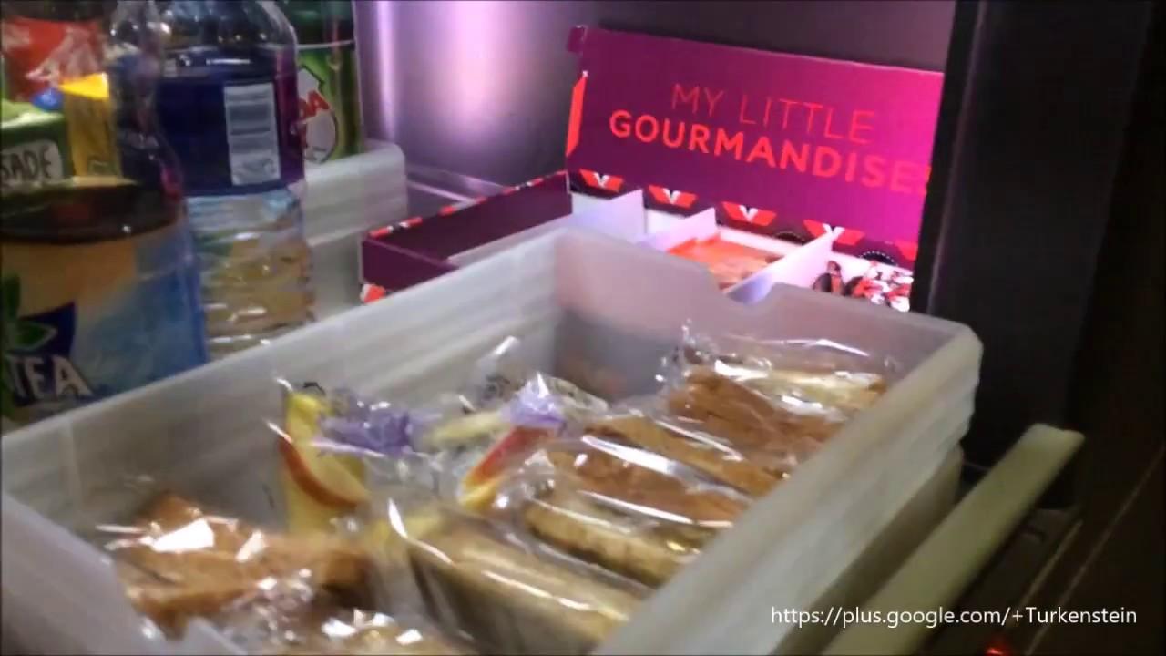 Air France A380 Buffet Bar Economy I Jan 2017