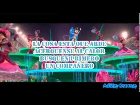 Real in Rio En Español Cancion en la pelicula Rio LETRA