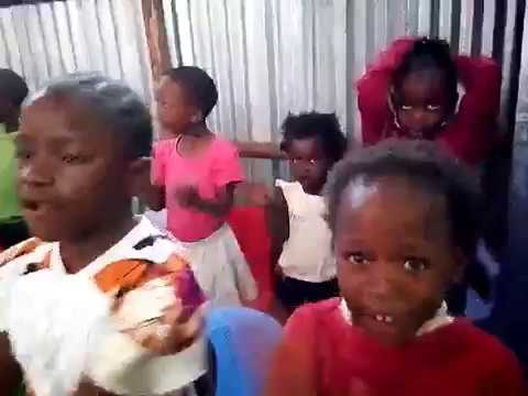 Kibera Slum Children's Worship GMFC-WFF Kenya 11-6-2018