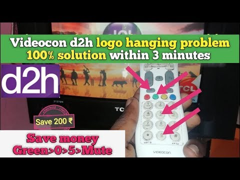 how to repair Videocon d2h set top box