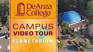 DEANZACOLLEGE The De Anza Planetarium is the largest school planeta...