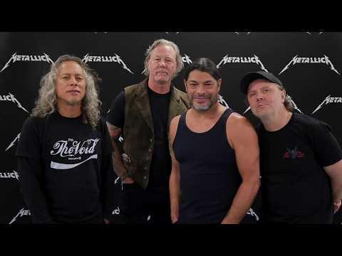 Mike Bell - Metallica Thanks Their Fans For Volunteer Effort