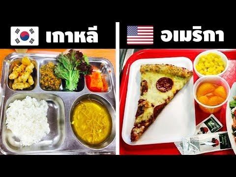 10ความแตกต่างของอาหารกลางวันโรงเรียนในแต่ละประเทศรอบโลก (น่ากินมว้ากกก)