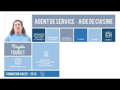 CvVidéo - Agent de Service & Aide de Cuisine à Angers